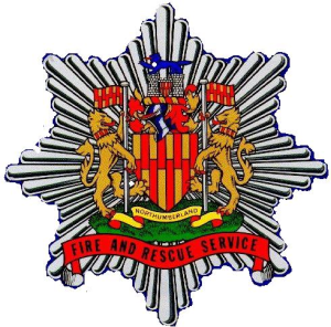 Northumberland Fire & Rescue badge